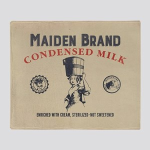 WW Maiden Brand Milk Throw Blanket