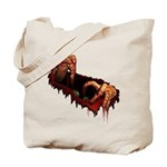 Zombie Tote Bag Halloween Horror Zombie Bag