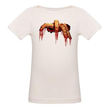 Zombie Baby T-shirt Halloween Organic Baby Costume