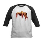 Zombie Kids Baseball Jersey Halloween Horror Shirt