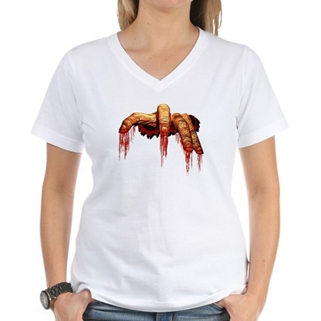 Women's Zombie T-shirt Halloween Zombie Shirt