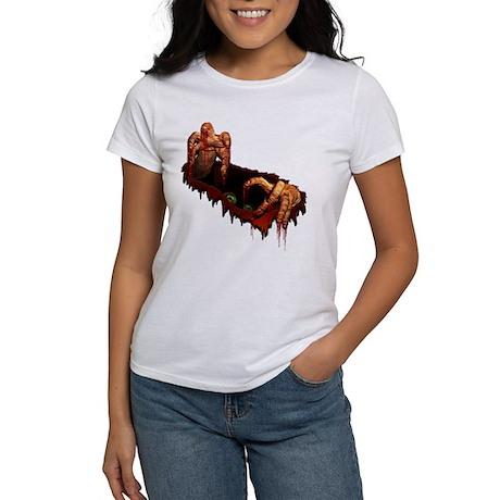 Women's Zombie T-shirt Halloween Zombie Shirt