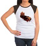 Zombie Women's Cap Sleeve T-Shirt