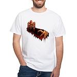 Zombie White T-Shirt