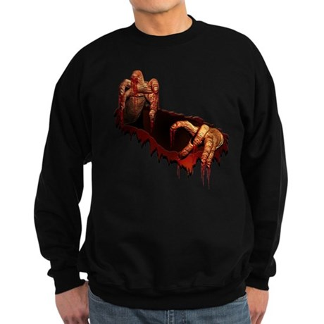 Zombie Sweatshirt Scary Halloween Zombie Shirt