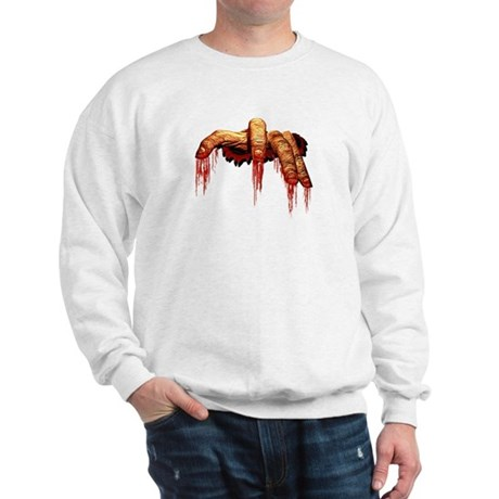 Zombie Sweatshirt Creepy Halloween Zombie Shirt
