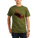 Zombie Organic Men's T-Shirt (dark)