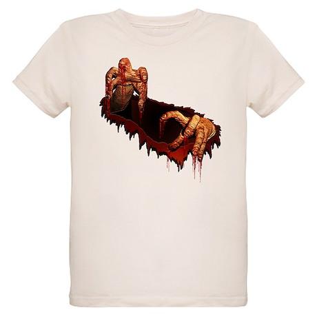 Kid's Zombie T-Shirt Organic Halloween Costume Tee