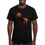 Zombie Men's Fitted T-Shirt (dark)