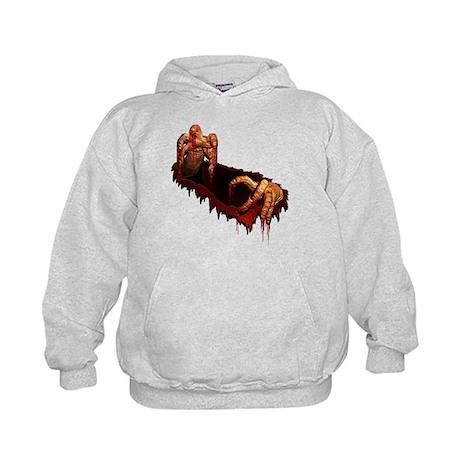 Kids Zombie Hoodie Zombie Hooded Sweatshirt