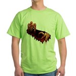 Zombie Green T-Shirt Halloween Horror T-shirt