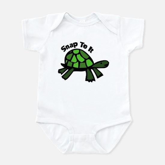 Riyah-Li Deisgns Snap To It Infant Bodysuit