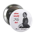 """What Would FLO Do? 2.25"""" Button (10 pack)"""