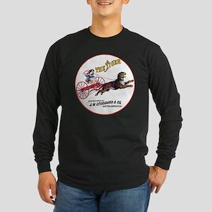The Tiger hay rake Long Sleeve Dark T-Shirt