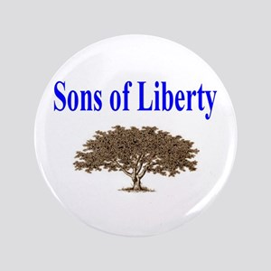 """Sons of Liberty 3.5"""" Button"""
