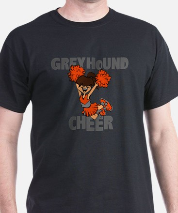 GREYHOUND CHEER (5) T-Shirt
