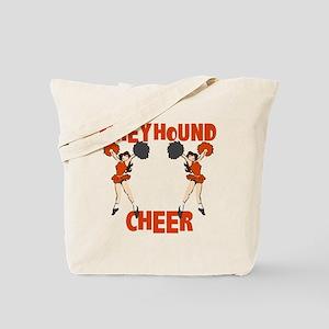 GREYHOUND CHEER (4) Tote Bag