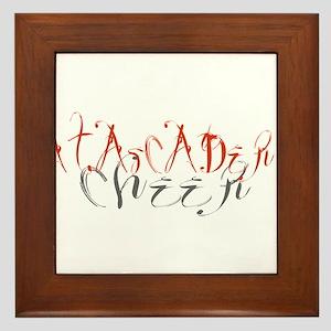 ATASCADERO CHEER (5) Framed Tile