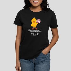 Volleyball Chick Women's Dark T-Shirt