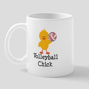 Volleyball Chick Mug