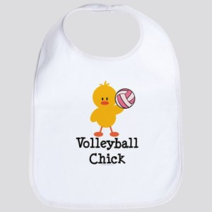 Volleyball Chick Bib