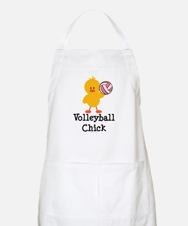 Volleyball Chick BBQ Apron