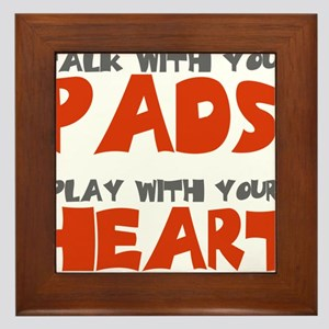 TALK WITH YOUR PADS Framed Tile