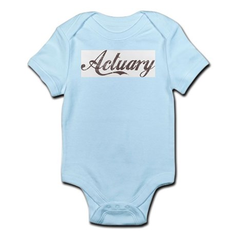 Vintage Actuary Infant Creeper