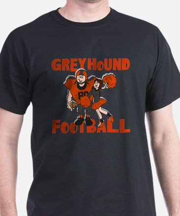 GREYHOUND FOOTBALL (4) T-Shirt