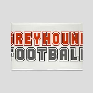 GREYHOUND FOOTBALL (3) Rectangle Magnet