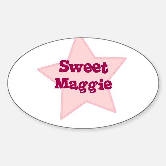 Sweet Maggie Oval Decal