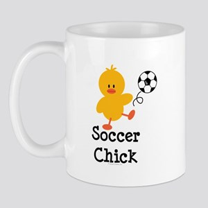 Soccer Chick Mug