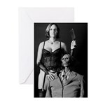 American Goth Greeting Cards (Pk of 20)