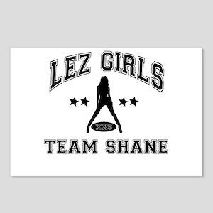 Riyah-Li Designs Lez Girls Team Shane Postcards (P
