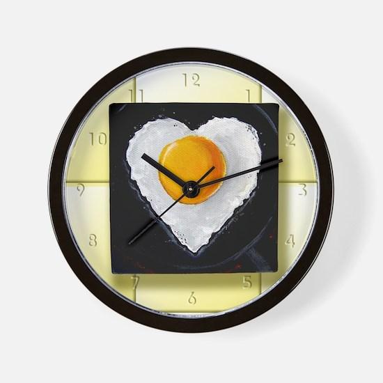 Everyone Loves a Good Egg Wall Clock