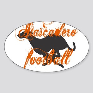 ATASCADERO FOOTBALL (7) Oval Sticker