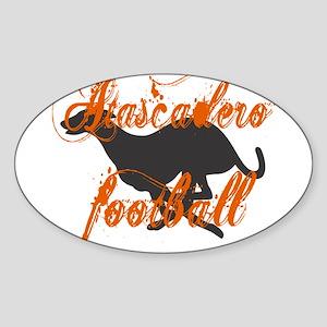 ATASCADERO FOOTBALL (7) Oval Sticker