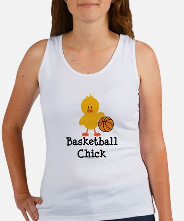 Basketball Chick Women's Tank Top