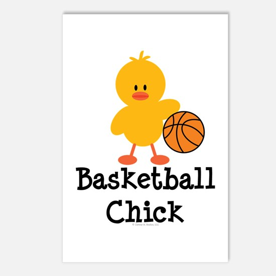 Basketball Chick Postcards (Package of 8)