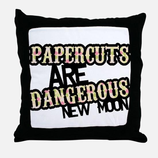NEW MOON PAPERCUT! Throw Pillow