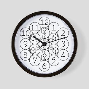 Golden Hex Clock