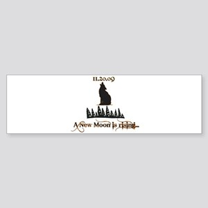 A New Moon Rising Bumper Sticker