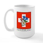 Alpine flowers Large Mug