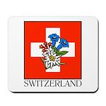Alpine flowers Mousepad