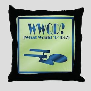 WWQD? Throw Pillow