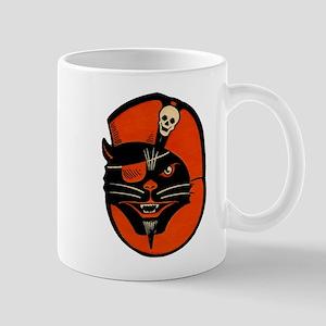 Vintage Pirate Cat Mug