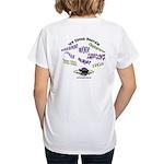 We Speak Beardies Women's V-Neck T-Shirt