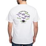 We Speak Beardies White T-Shirt