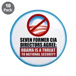 """Seven CIA Directors 3.5"""" Button (10 pack)"""