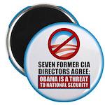 """Seven CIA Directors 2.25"""" Magnet (100 pack)"""